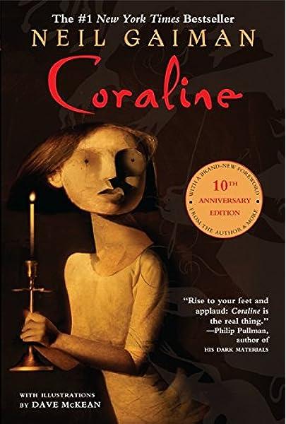 Coraline Gaiman Neil Mckean Dave 9780380807345 Amazon Com Books