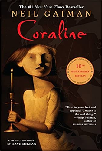 Image result for coraline book cover