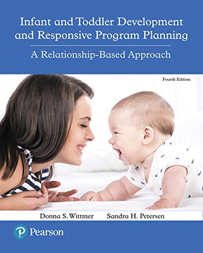 Infant and Toddler Development and Responsive Program Planning: A Relationship-Based Approach, Enhanced Pearson eText -- Access Card (4th Edition)