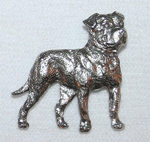 George G Harris SDISC American Bulldog Pewter Pin - Harris Pewter Pin