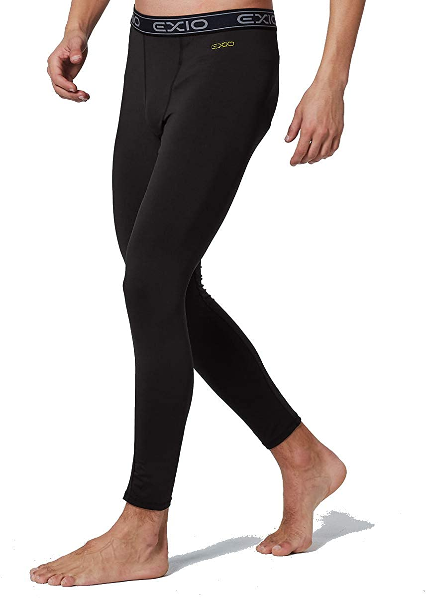 EXIO Mens Compression Baselayer Pants Cool Dry Running Tights Leggings EX-P06