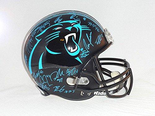 Carolina Panthers Signed Full Sized Helmet Panthers