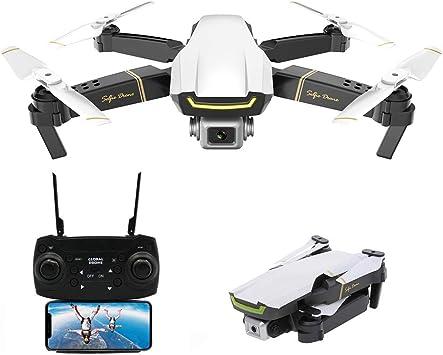 Opinión sobre Goolsky Global Drone GW89 RC Drone Drone x procon Cámara 1080P WiFi FPV Foldable Controles Remotos Plegable RC Selfie Quadcopter para Niños Principiantes Entrenamiento (Blanco, 1 Batería)