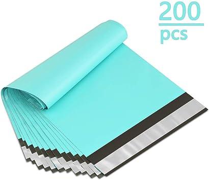 UCGOU 6x9 Inch 200Pcs Teal Poly Mailers Premium Shipping Envelopes Mailer