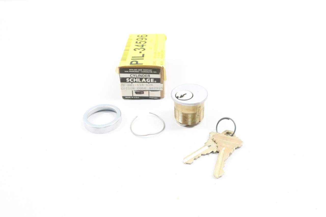 SCHLAGE 20-001-118-626 Cylinder Lock Lockout & Tagout Products ...