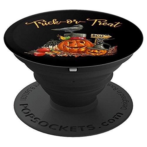 Halloween Pumpkins - PopSockets Grip and Stand for Phones and Tablets -