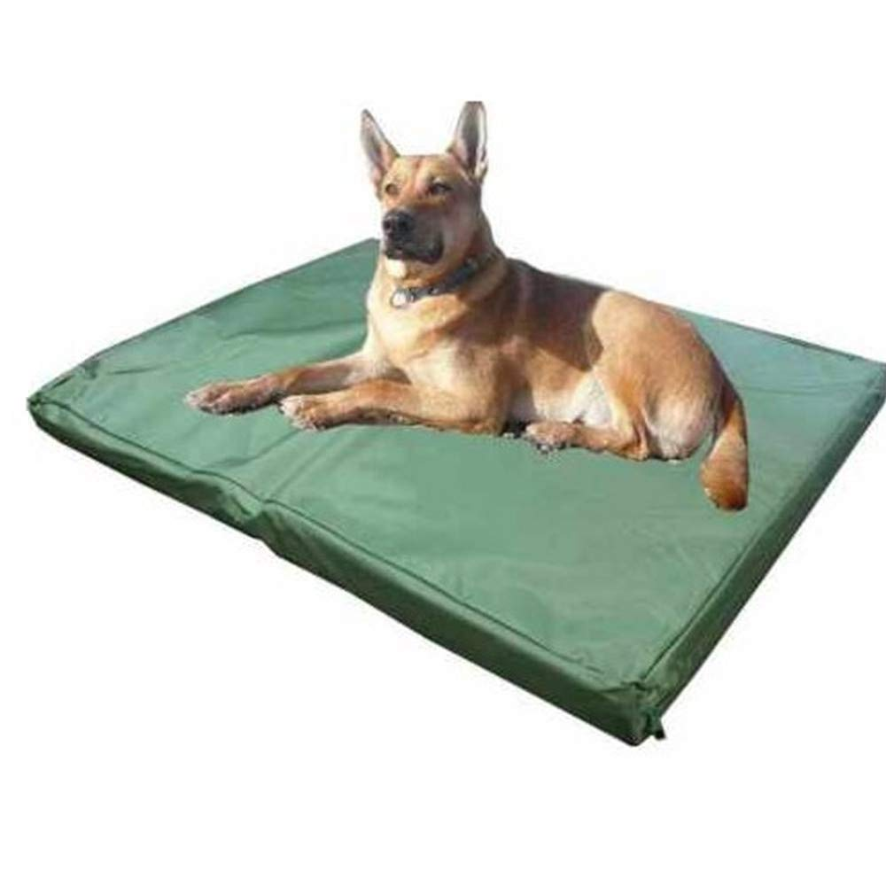 Medium Dog Bed Detachable Washable Dog Pad Pet Mat Oxford Cloth Waterproof Kennel Crate for Medium and Large Dogs,M