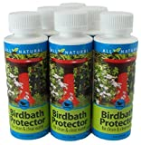 6 Pack 4 Oz Care Free Enzymes Birdbath Protector Made in USA 95521D