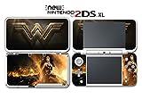 Wonder Woman Wonderwoman Superhero Diana Video Game Vinyl Decal Skin Sticker Cover for Nintendo New 2DS XL System Console
