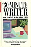 The 30-Minute Writer, Connie Emerson, 0898795389