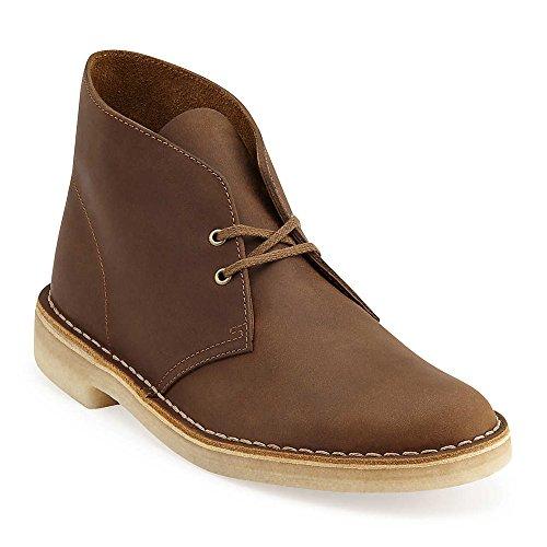 CLARKS Men Desert Boot Beeswax Leather Multi 11.5 M (Mens Boot England Desert)
