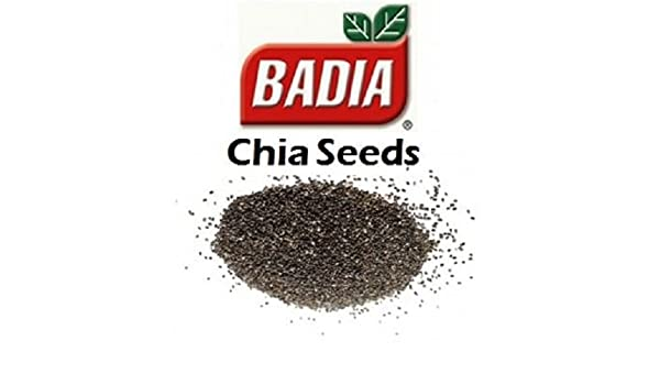 Amazon.com : Badia Chia Seed Salvia Hispanica 1.5 Oz (Pack ...