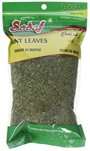 (Sadaf Dried Mint Leaves Bag, 3 oz. )