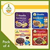 Shastha Sevai Variety Pack of 4 (Red rice, Ragi, Multi-grain, Multi-millet)