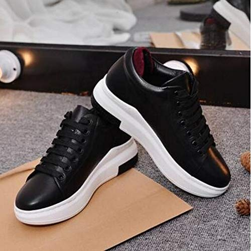Black Mujer Black Nappa Heel Closed Toe Zapatos Summer de ZHZNVX Leather Flat Spring Comfort Sneakers gq6BEwOt