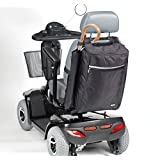 Drive Medical Crutch & Walking Stick Holdall Bag for Mobility Scooter - Black