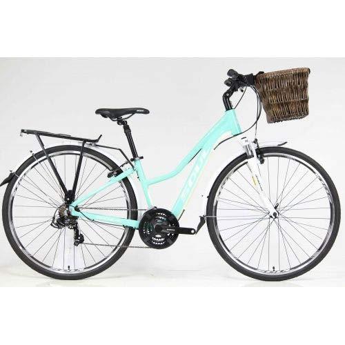 Bicicleta 700 Soul Flow 21V Shimano Verde (Qdo 17 - m)