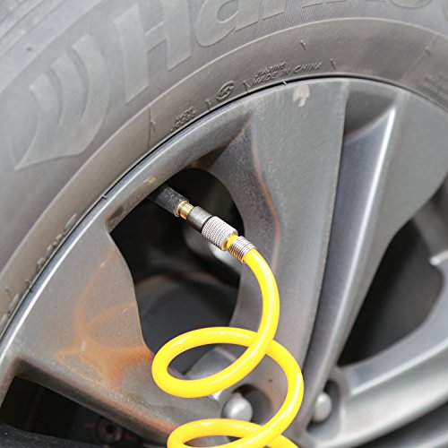 TIREWELL 12V Tire - Cylinders Direct Pump Compressor with and 5M Extension Hose, SUVs/Trucks/Vans/RVs