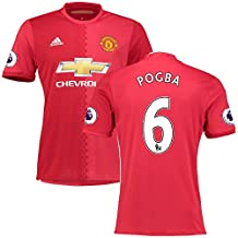 Manchester United Official Home 2016/17 Jersey with EPL Patches with EPL Patches