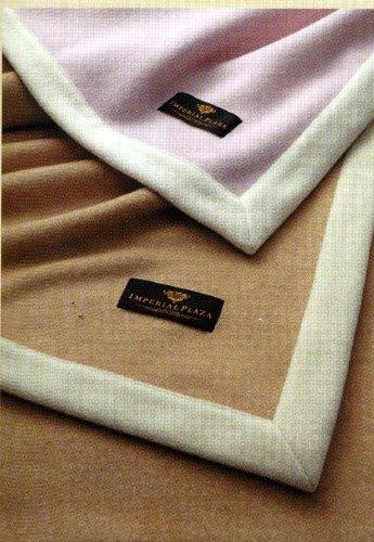 【西川の毛布】ホワイトカシミヤ毛布【シングル 140×210】 ピンク B0054I63QI ピンク