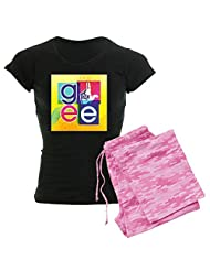 CafePress - Glee Colorful - Women's Dark Pajamas