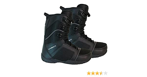 Amazon Symbolic Ultra Light Black Snowboard Boots Mens 7 8 9