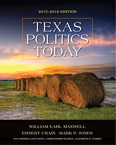 Download Texas Politics Today 2015-2016 Edition (Texas: It's a State of MindTap) Pdf