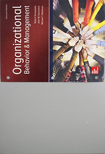 GEN COMBO LL ORGANIZATIONAL BEHAVIOR AND MANAGEMENT; CONNECT ACCESS CARD