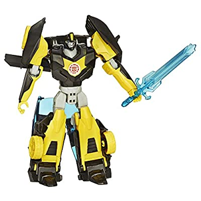 Transformers Robots in Disguise Warrior Class Night Ops Bumblebee Figure