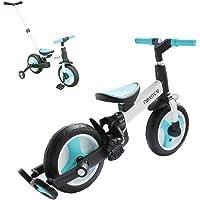 nexace Bicicleta De Equilibrio A Partir De 2 Años, Triciclo Infantil Multi Triciclo, Bicicleta Infantil con Bicicletas…