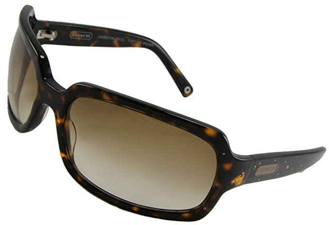 2439b8c01db4 Image Unavailable. Image not available for. Colour: Coach Sunglasses  Samantha S425 Tortoise/ Brown ...