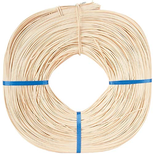(Commonwealth Basket Round Reed #3 2-1/4mm 1-Pound Coil, Approximately 750-Feet)