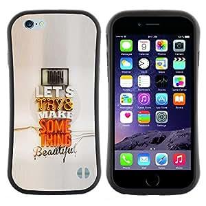 "Pulsar iFace Series Tpu silicona Carcasa Funda Case para Apple (4.7 inches!!!) iPhone 6 Plus / 6S Plus ( 5.5 ) , Pareja moderno Cita regalo Arte Pop Amor"""