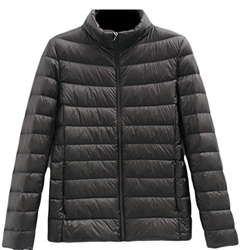 Packable Short Women's amp;S Collar Warm M Coats Jacket amp;W Ultralight Puffer Down 7 Stand qAIvfUn