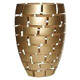 Badash Crystal - Gold Wall 12 Inch Vase