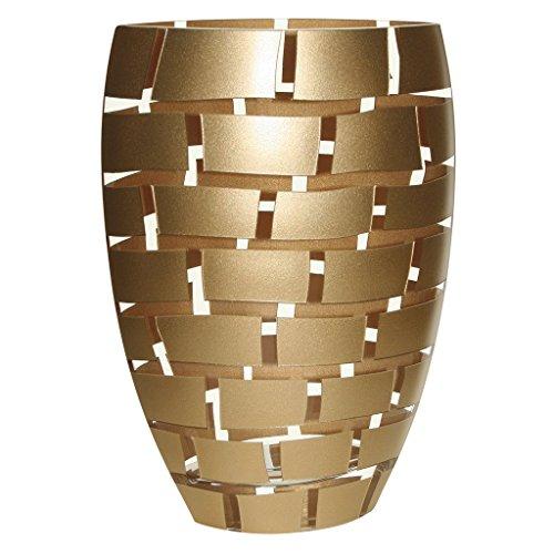 Badash Crystal Gold Wall Vase