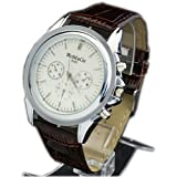 Big Round Face Unisex Luxury Fashion Quartz Dial Decoration Wristwatch Watches