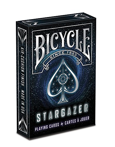 Bicycle Stargazer Deck Poker Size Standard Index Playing Cards, Stargazer Deck (2 Packs) by Bicycle by Bicycle