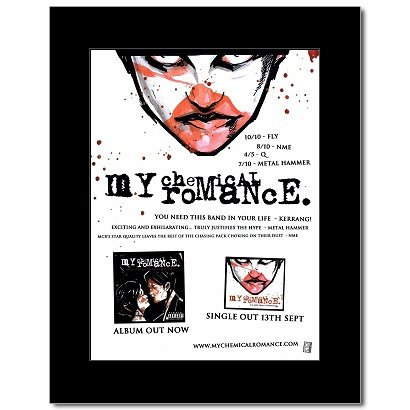 My Chemical Romance - Three Cheers For Sweet Revenge Mini Poster