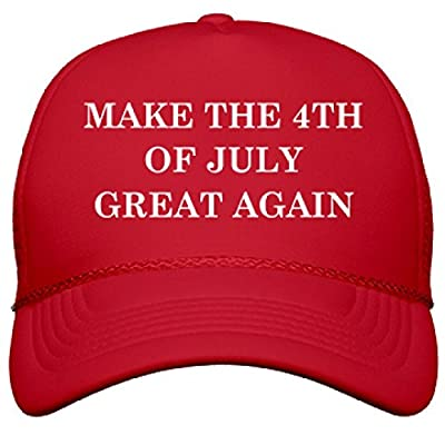 Make The 4th Of July Great Again: OTTO Solid Color Snapback Trucker Hat