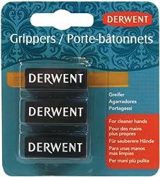 Derwent Grippers, Inktense, Small, 3 Per Pack (2300449)