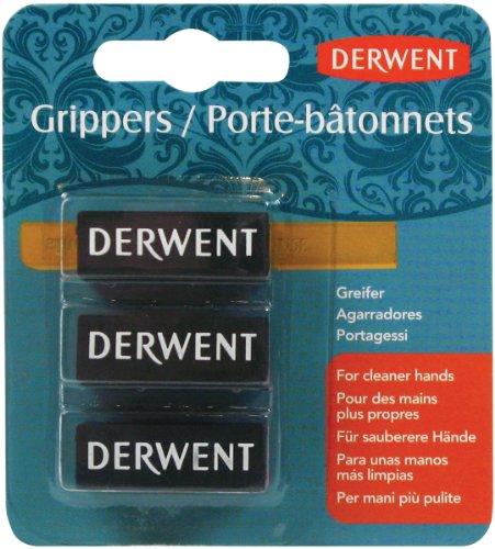 Derwent Grippers, Inktense, Small, 3 Per Pack (2300449) (Gelee Gripper)