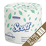 Kimberly Clark Professional SCOTT Standard Roll Bath Tissue - One Pallet Of 20 Cartons - BMC-KCC 04460PL