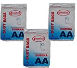 9 Eureka Style AA 58623 Upright Vacuum single ply Bags Sanitaire
