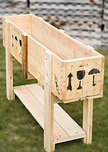 Huerto Urbano Reciclado. paletsymuebles: Amazon.es: Handmade