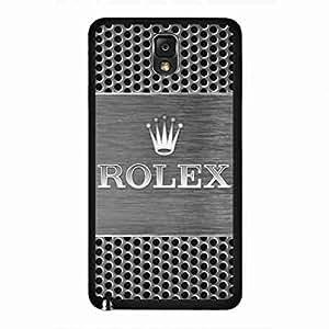 Durable Plastic funda,Samsung Galaxy Note 3 Phone funda Cover,ROLEX Logo funda Cover Samsung Galaxy Note 3