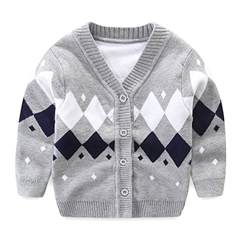 Gray Boys Sweater - 3