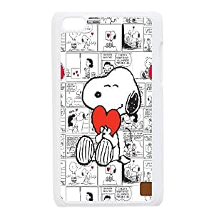 Cute snoopyseries protective case cover FOR IPod Touch 4th SHIKAI2S24365