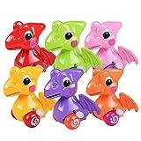Funny Clockwork Toy Baby Cute Dinosaur Model Toy Baby Filed Gift for Kids (Random)