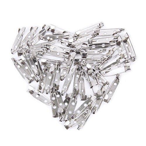 dabbie 50/piezas Pines broches seguridad cors/é broche 25/mm